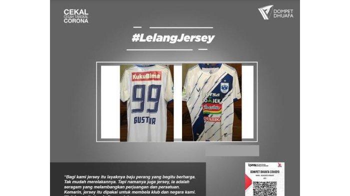 Punya Nilai Historis, Jersey PSIS Semarang Milik Gustur Cahyo Dilelang