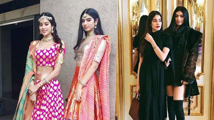 Ini 2 Putri Cantik Sridevi, Kendall dan Kylie Jenner-Nya Bollywood