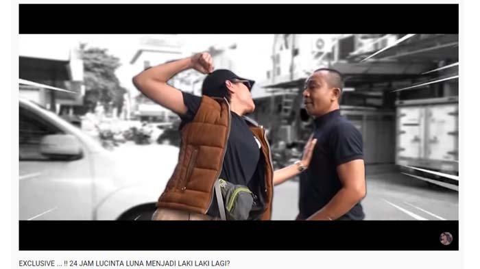 Lucinta Luna Nyaris Adu Jotos dengan Pria saat Berubah Jadi Lelaki,Ibu-ibu Syok Dengar Suara Bassnya