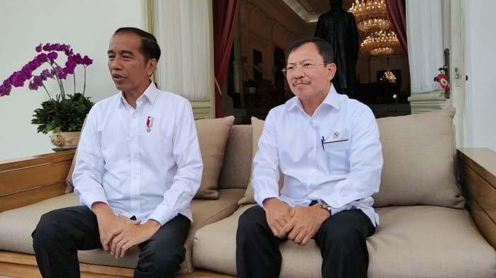 Ditanya Isu Reshuffle Kabinet Jokowi, Menkes Terawan Langsung Hentikan Sesi Tanya Jawab