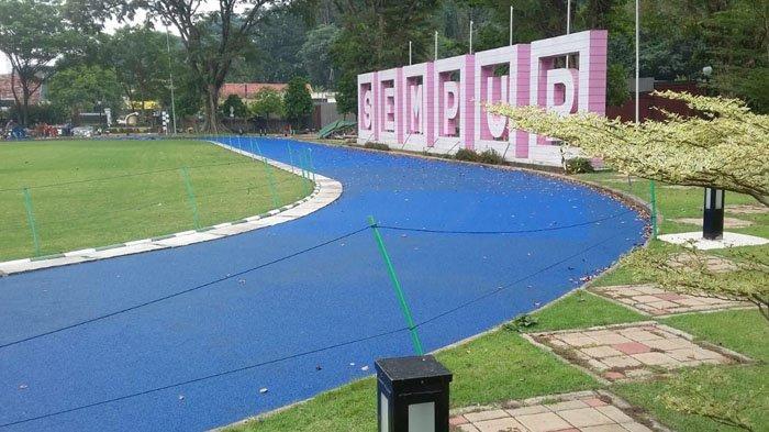 Sudah Pelapisan Kedua, Pengerjaan Jogging Track Sempur Bogor Diperkirakan Selesai Tepat Waktu