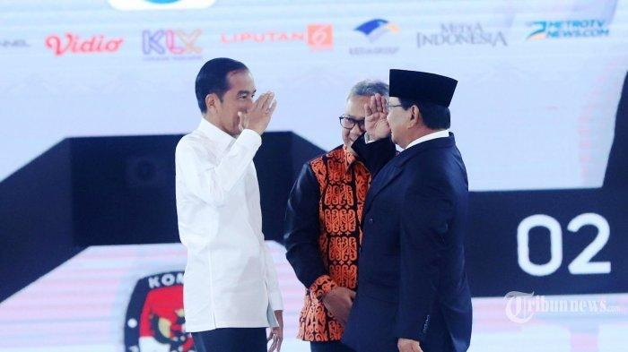 Hasil Quick Count Pilpres 2019 : Jokowi Tunggu Perhitungan KPU, Prabowo Klaim Menang di Exit Poll