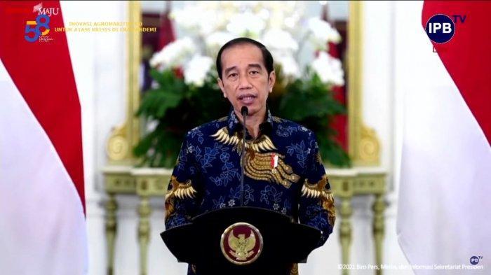 Presiden Joko Widodo Ajak IPB University Jadi Kampus Pelopor Inovasi : Saya Menaruh Harapan Besar