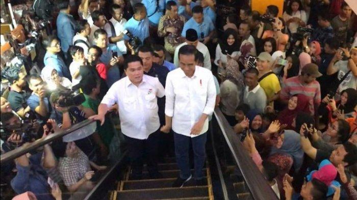 Timses Teriak 'Kampret', Jokowi : Komprat, Kampret, Opo?