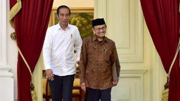 BJ Habibie Meninggal Dunia, Jokowi : Saya Sampai, Beliau Sudah Tidak Ada