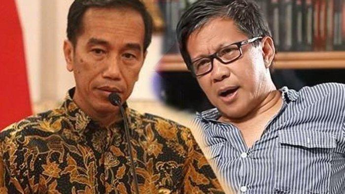 Tuding Jokowi Sengaja Pancing Kerumunan di Maumere, Rocky Gerung : Dramatis tapi Akibatnya Tragis