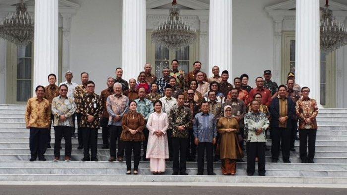 Bocoran Nama-Nama Calon Menteri Jokowi - Maruf Amin: Ada Wajah Lama dan Baru, Prabowo Masuk Daftar