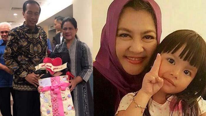 Selain Kado,Iriana Jokowi Tulis Surat untuk Shakira, Isinya Buat Ibunda Denada, Emilia Contessa Haru