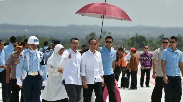 Presiden Jokowi Tinjau Rehabilitasi Lombok Pasca-gempa