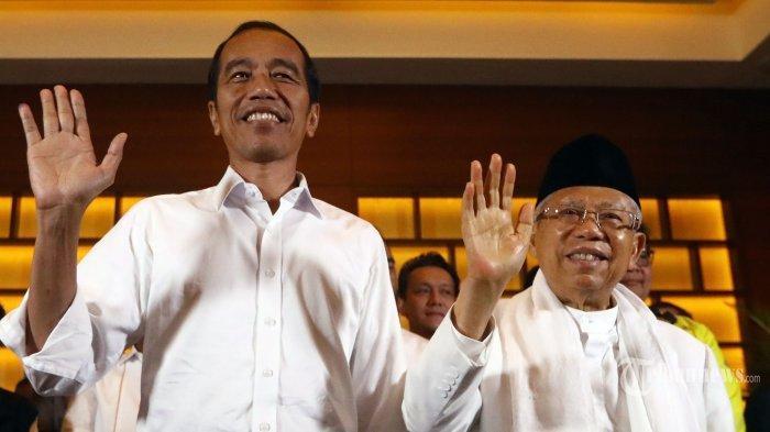 Jokowi & Maruf Amin Ditetapkan Jadi Presiden dan Wakil Presiden : Besok Kita Langsung Kerja