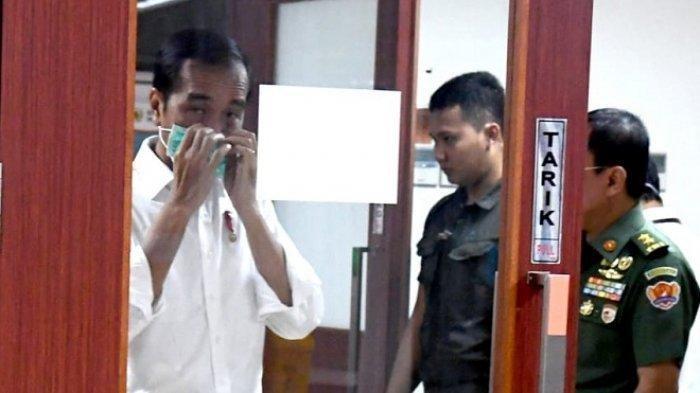 Presiden Jokowi Jenguk B.J. Habibie di RSPAD, Begini Kondisi Terbaru Presiden ke-3 RI