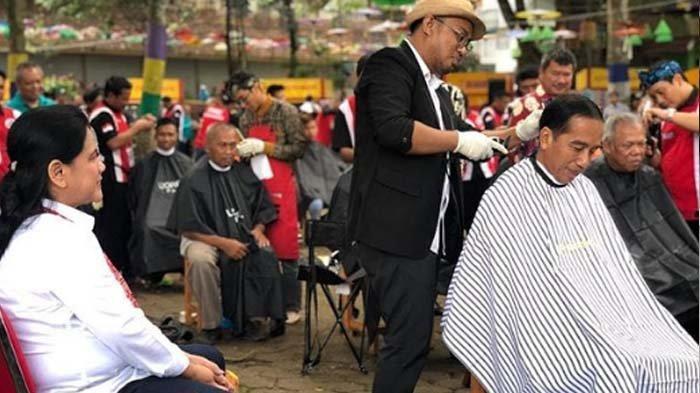 Jadi Tukang Cukur Jokowi Selama 6 Tahun, Herman Bongkar Bayaran yang Diterima