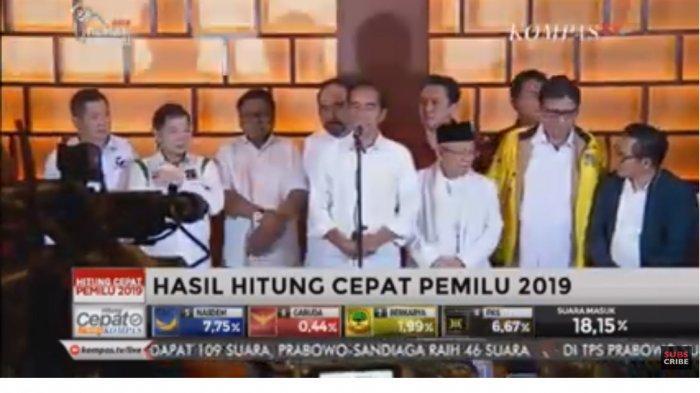 Jokowi : Saya ke Istana Lagi, Masih Ada Kerjaan