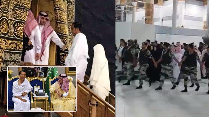Foto Presiden Joko Widodo Umroh :Kaesang Ikut Bertemu Raja Salman - Video Jokowi Dikawal Masuk Kabah