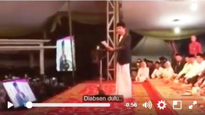 Video Jokowi Absen Tiga Cagub DKI Jakarta Jadi Viral, Netizen : Biasanya Cuma Dua yang Hadir