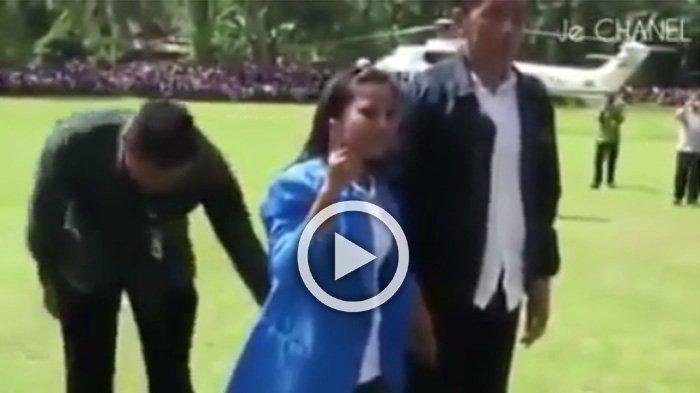 Kawal Jokowi Saat Foto Bareng Warga, yang Dilakukan Paspampres di Belakang Ini Bikin Kaget Orang