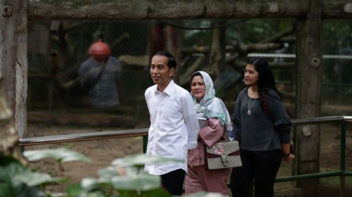 Wisata ke Ragunan, Jokowi dan Paspampres Tetap Bayar Tiket