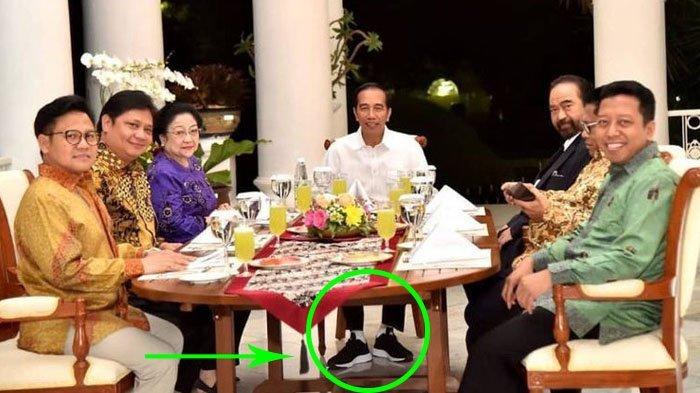 Kisah Pembuat Sepatu Sneakers Jokowi yang Sempat Merasa Khawatir dan Rela Antar Sampai Malam Hari