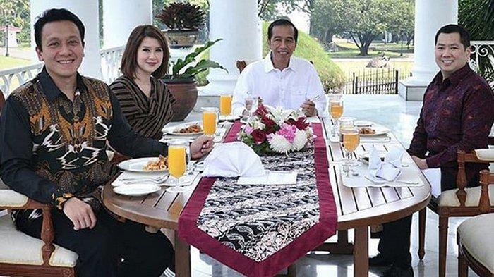 Jokowi Santap Siang Bersama Grace Natalie di Istana Bogor, Netizen Salah Fokus ke Menu Makannya