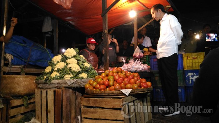 Kata Jokowi, Kalau Harga Cabai Sampai Rp 10.000 dan Bawang Rp 5.000 Kasihan Petaninya