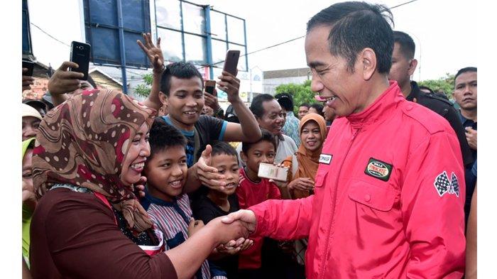Lewat Bersalaman, Jokowi Akui Tahu Mana Warga yang Dukung Dirinya dan Tidak Dukung