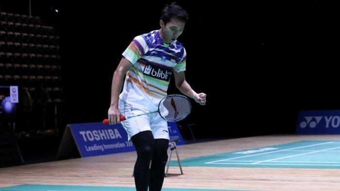 Hasil Singapore Open 2019 - Jonatan Christie Susul Ginting ke Perempat Final