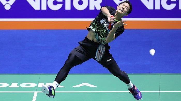 Hasil Korea Open 2019 - Jonatan Christie Melangkah ke Babak Kedua