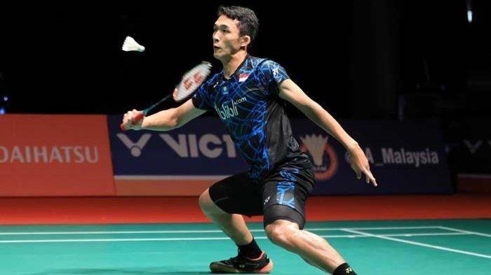 Hasil Kejuaraan Dunia 2019 - Jonatan Christie Kalah Dibabak Perempat Final