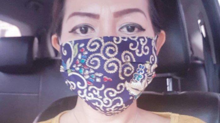 Masker Kain Motif Batik Produk Asli Bogor, Penjual Sebut Bahan Nyaman dan Tidak Panas