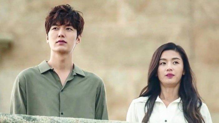 Jun Ji Hyun dan Lee Min Ho di drakor Legend of The Blue Sea