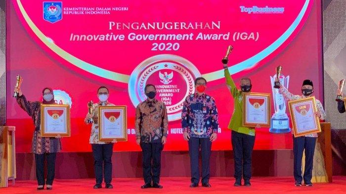 Kabupaten Bogor Dapat Penghargaan Innovative Government Award 2020 dari Kemendagri