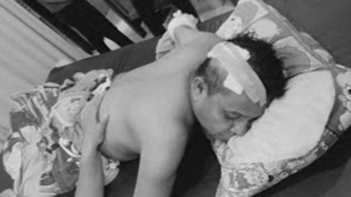 Sakit Hati Usaha Cari Nafkah Dibilang Gini, Warga Kampak Kepala Kades di Binjai