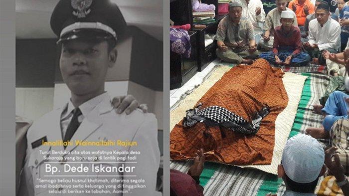 7 Jam Setelah Dilantik Jadi Kepala Desa Sukaraja Bogor, Dede Iskandar Meninggal Dunia