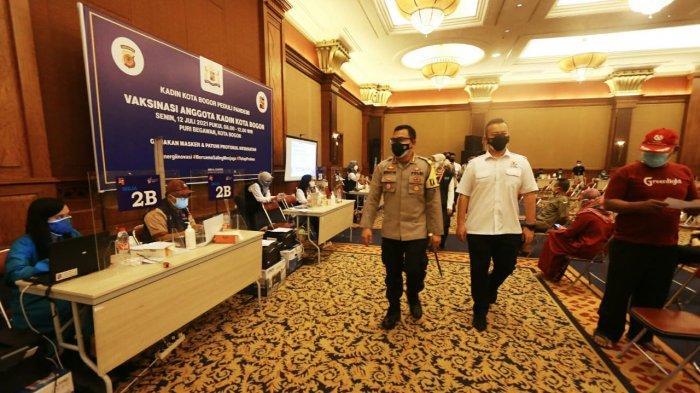 Bangkitkan Ekonomi, Kadin Kota Bogor Siapkan 1000 Kuota Vaksin Untuk Pelaku Usaha Dan UMKM