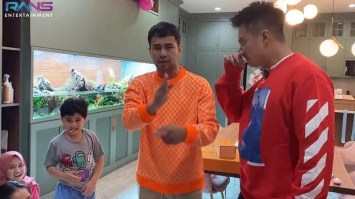 Dapat Hadiah Super Mewah dari Sahabat, Raffi Ahmad Langsung Sindir Baim Wong : Kado Lu Kalah Pamor !