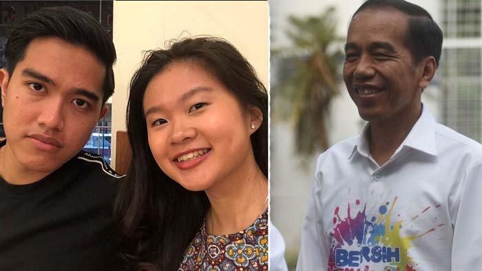 Kaesang Pangarep, Felicia Tissue, dan Jokowi