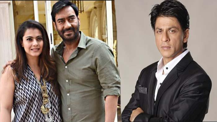 Kajol, Ajay Devgan dan Shahrukh Khan