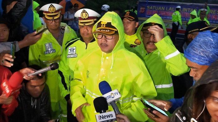 Jalan Raya Puncak Bogor Resmi Ditutup, Kakorlantas Imbau Masyarakat Waspada Cuaca Buruk