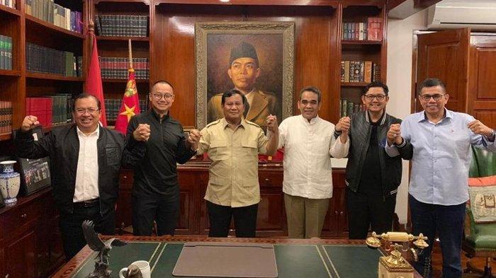 Sikap Politik Parpol Eks Pendukung Prabowo, Demokrat Masih Bimbang dan PKS digerbong Oposisi?