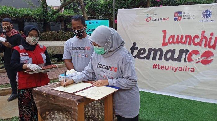 Cegah Penyebaran Covid-19 di Kota Bogor, Salam Aid Kampanyekan 4 M