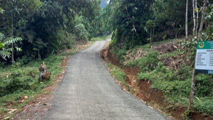 Pasca Heboh Ibu Hamil Ditandu Saat Hendak Melahirkan, Jalan Desa Dibangun di Gunung Menir