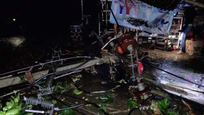 Penampakan Kampung Sadeng Bogor Setelah Diterjang Hujan dan Angin Puting Beliung