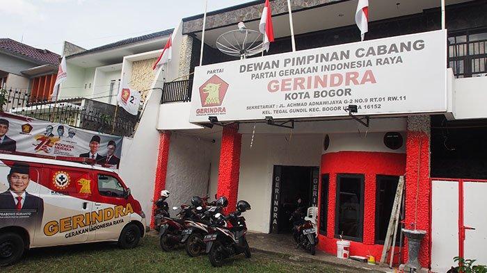 Kantor DPC Partai Gerindra Kota Bogor