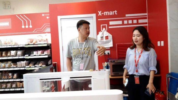 Melihat Kantor Pusat JD.com di Beijing, Ada Supermarket Tanpa Pelayan Manusia