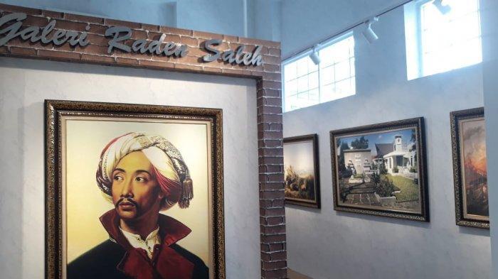 Kantor Pajak Kota Bogor Pajang Galery Lukisan Raden Saleh