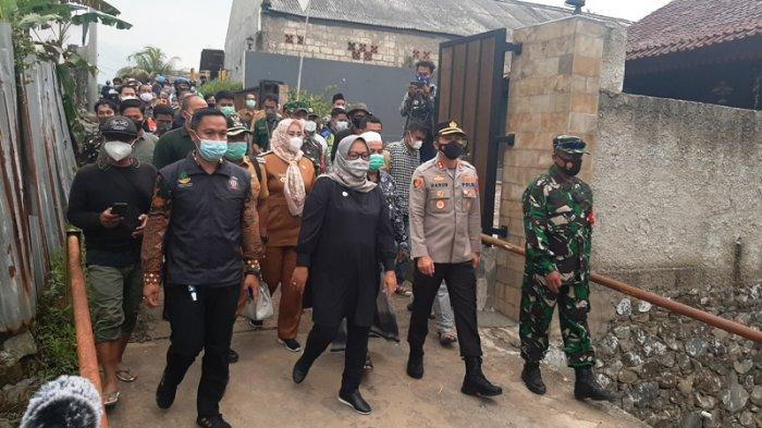 Datangi Lokasi Banjir Bandang Jasinga, Kapolres Bogor Minta Warga Tak Khawatirkan Harta Benda