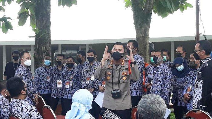 Simulasi PPKM Mikro, Kapolresta Beri Arahan Teknis Pelaksanaannya ke Lurah di Kota Bogor