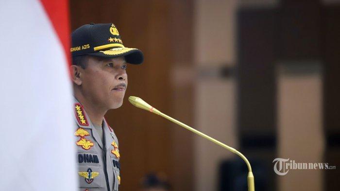 Komjen Listyo Sigit Prabowo Diantar Kapolri Jenderal Idham Azis Jalani Fit and Proper Test di DPR