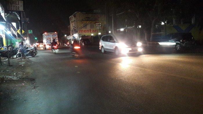 Laju Kendaraan Jalan Karadenan Bogor Lancar Kedua Arah Malam Ini