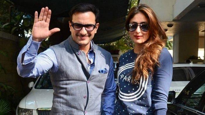 Kareena Kapoor dan suami, Saif Ali Khan